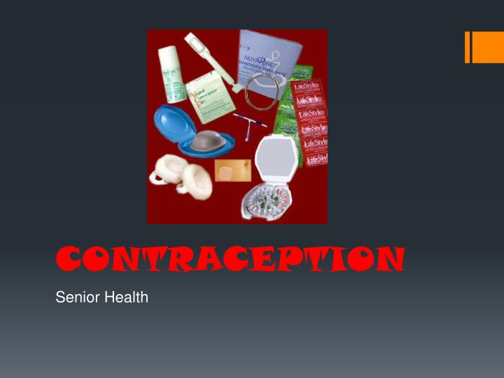 contraception n.