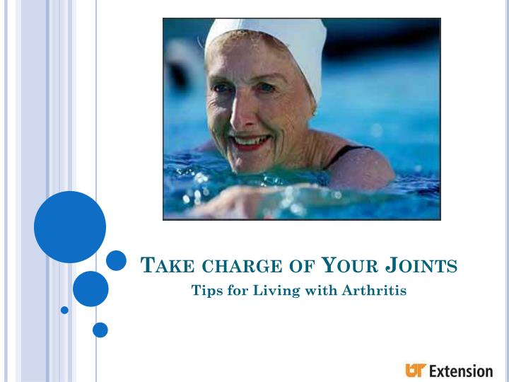take charge of your joints n.