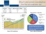 data center power consumption but first an economic one