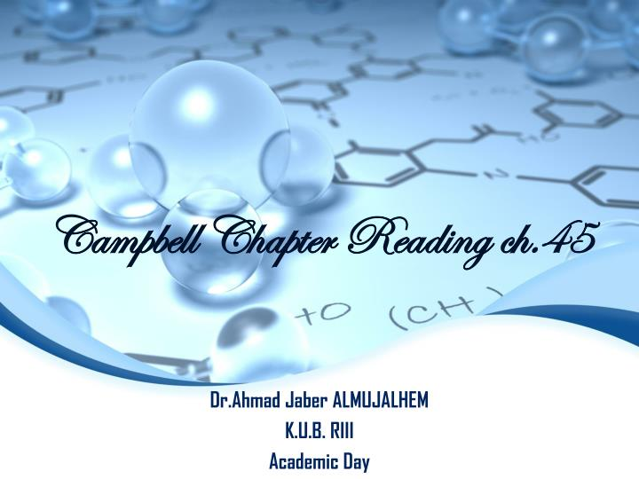 campbell chapter reading ch 45 n.
