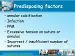 predisposing factors