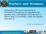 prosthetic valve thrombosis5