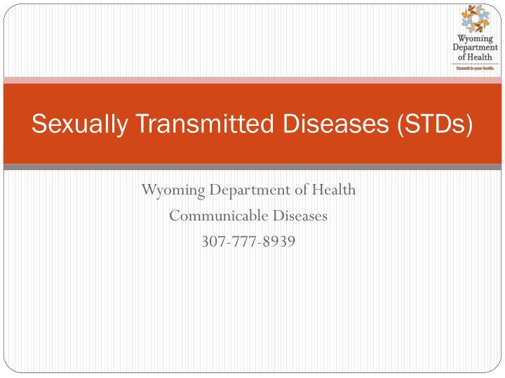 sexually transmitted diseases stds n.