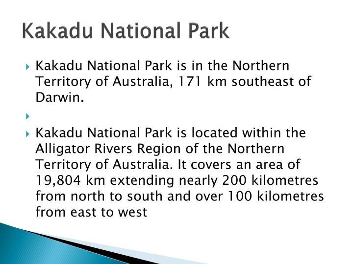 Kakadu national park1