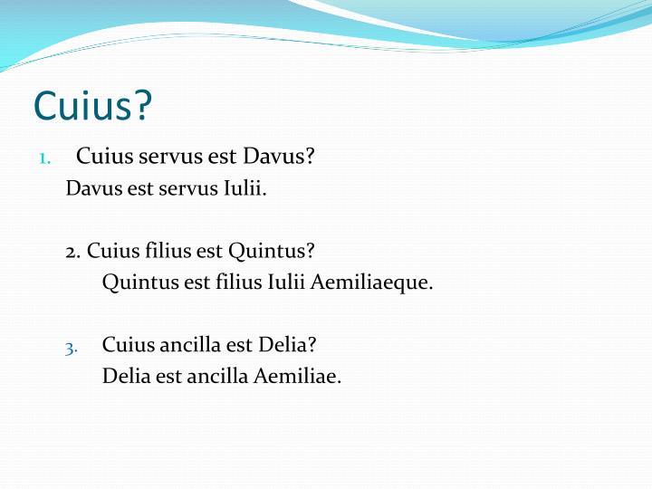 Cuius
