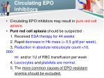 circulating epo inhibitors1