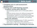 1 skills audit1