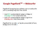 google pagerank tm websurfer