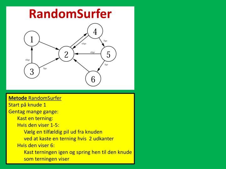 RandomSurfer