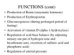 functions cont