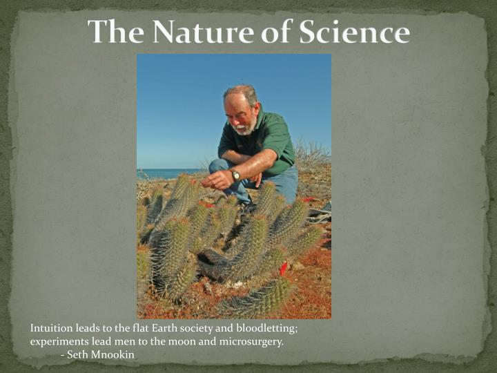the nature of science n.