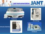 lab instrumentation