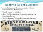 nephritis bright s disease