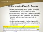 vph to inpatient transfer process2