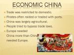 economic china