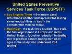 united states preventive services task force uspstf1