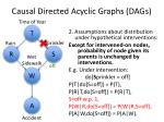 causal directed acyclic graphs dags2
