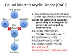causal directed acyclic graphs dags3