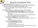 dynamic compilation 1 3