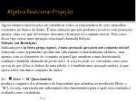 algebra realcional proje o2