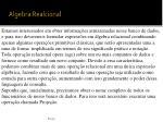 algebra realcional3