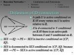 definition of d connection1