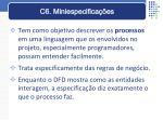 c6 miniespecifica es