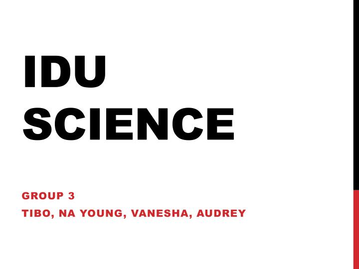 idu science n.