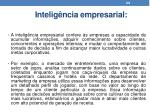 intelig ncia empresarial1