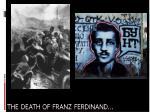 the death of franz ferdinand1
