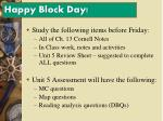 happy block day