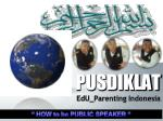 pusdiklat edu parenting indonesia