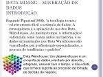 data mining minera o de dados introdu o1