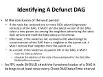 identifying a defunct dag1
