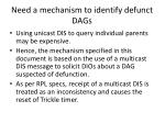 need a mechanism to identify defunct dags