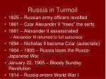 russia in turmoil