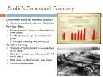 stalin s command economy