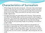 characteristics of surrealism1