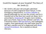 could this happen at your hospital the story of mr smith 1