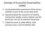 example of successful sustainability sjhmc1