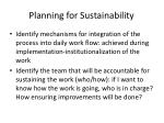 planning for sustainability1