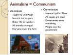 animalism communism