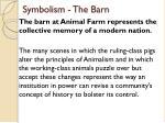 symbolism the barn