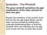 symbolism the windmill