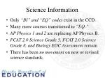 science information