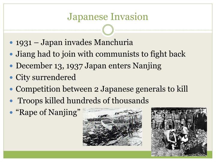 Japanese Invasion