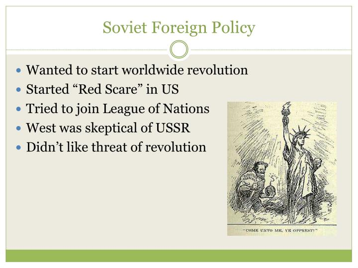 Soviet Foreign Policy
