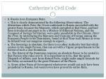 catherine s civil code
