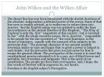 john wilkes and the wilkes affair1