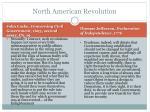 north american revolution